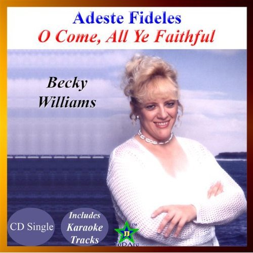 Adeste Fideles (oh Come All Ye Faithful) (cd Single) By Becky Williams - listed on julisoft Shopping Center