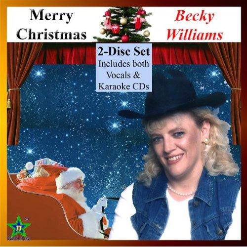 Merry Christmas (2-disc-set: Vocals + Karaoke) By Becky Williams - (listed on pcsure Shopping Center)